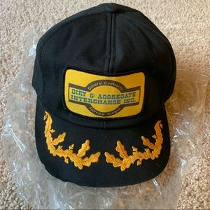 Vintage Dirt & Aggregate SnapBack Hat made in USA